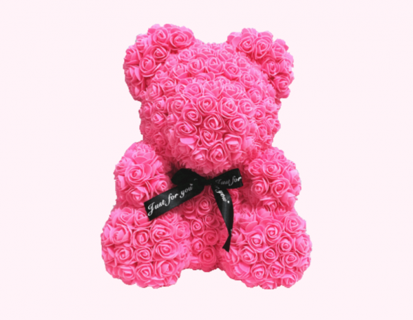 Et si vous offriez un ours en rose pour la Saint-Valentin